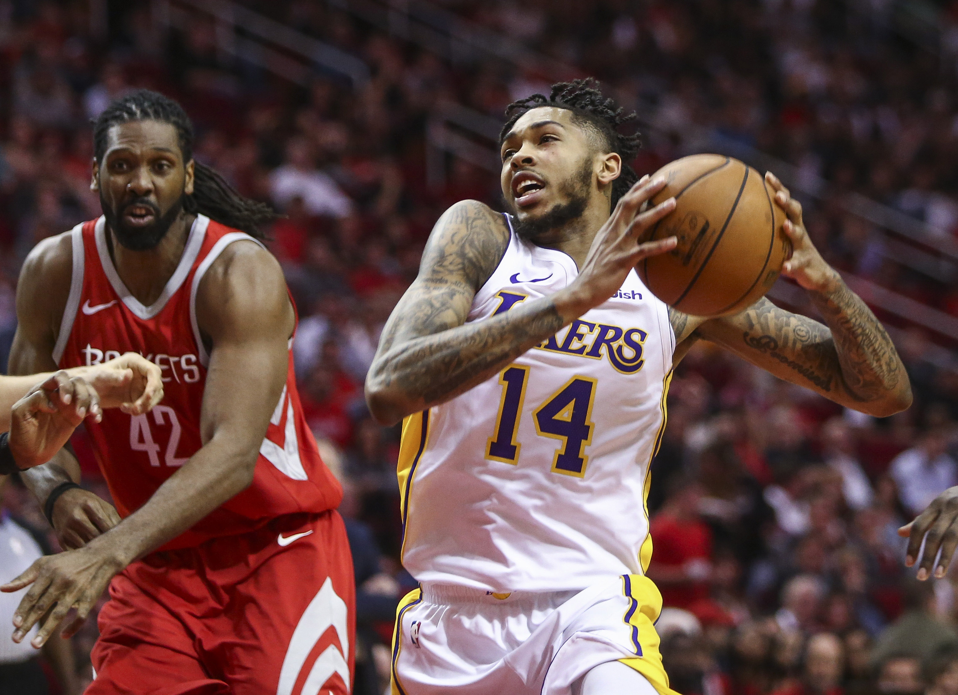 Lakers' Brandon Ingram out against Blazers with quad issues