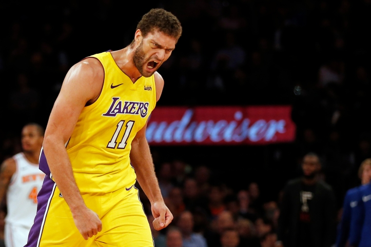 NBA: Los Angeles Lakers at New York Knicks