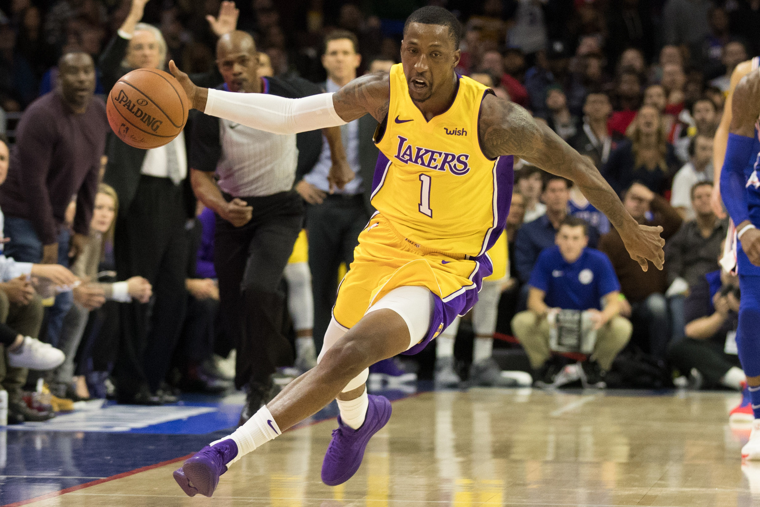 Caldwell-Pope missed game because of travel restrictions