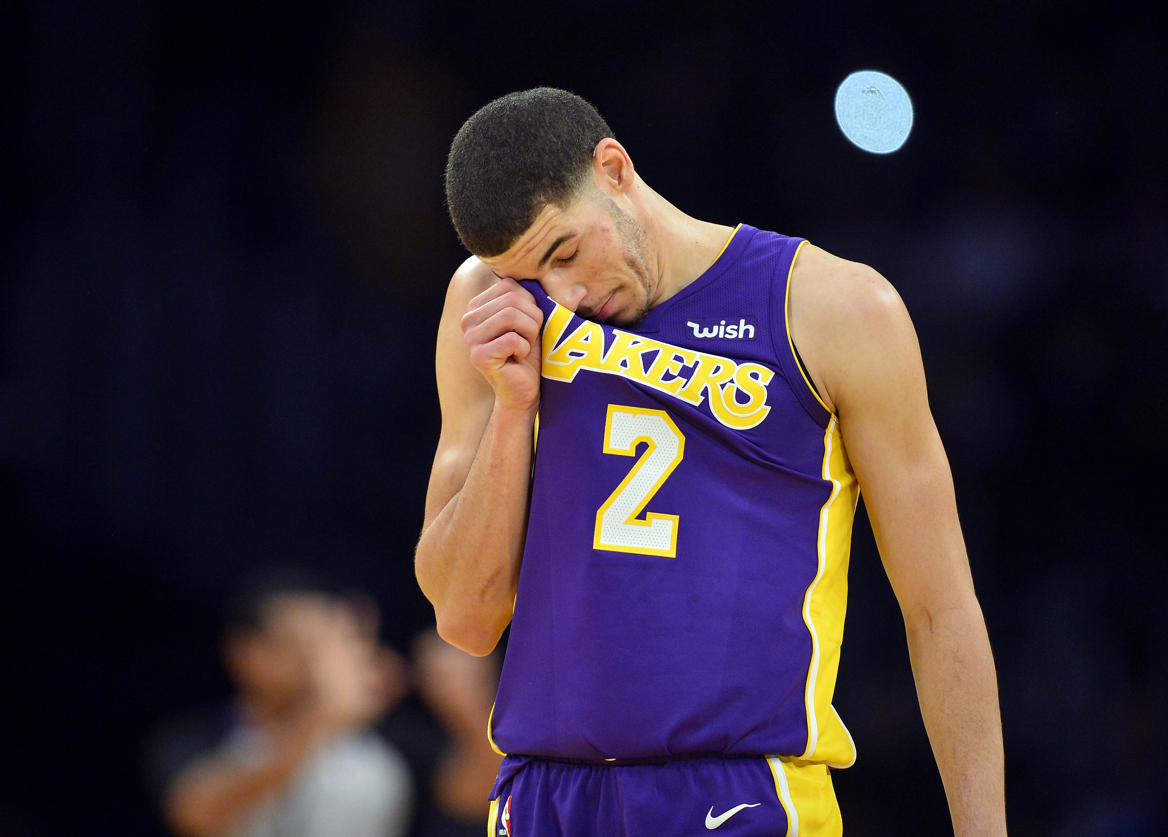 Lakers To Face Minnesota on Christmas Day Without Lonzo Ball