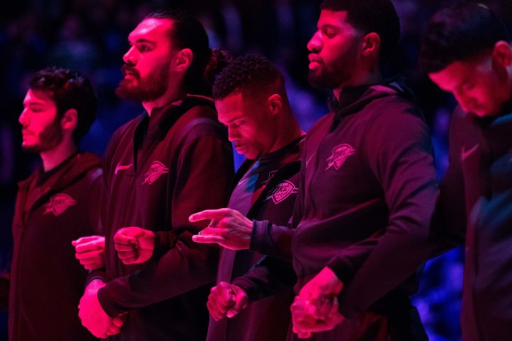 NBA: Oklahoma City Thunder at Philadelphia 76ers