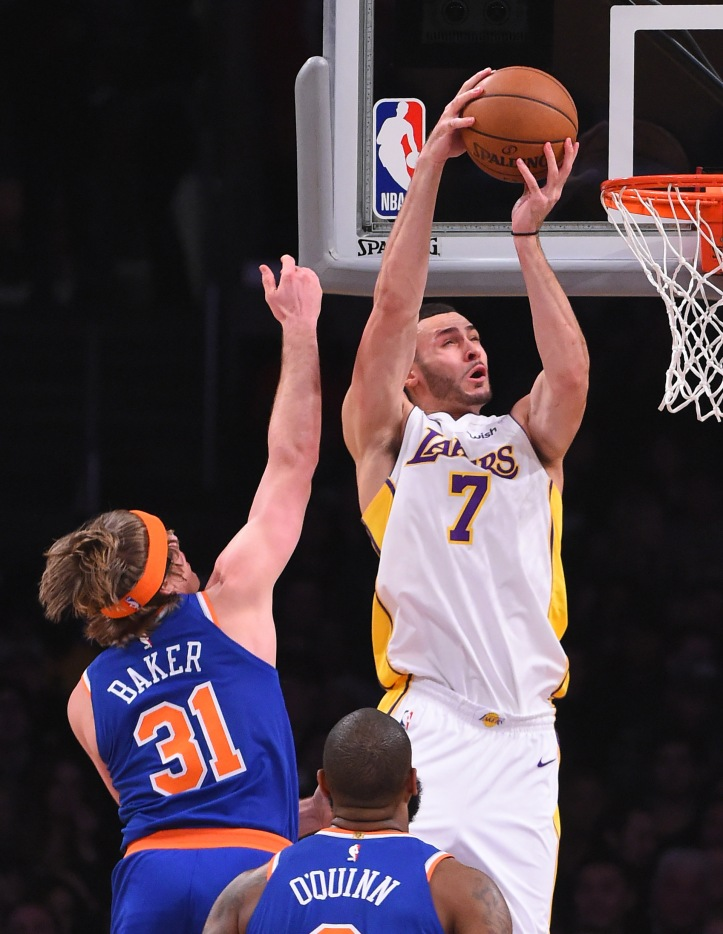 NBA: New York Knicks at Los Angeles Lakers