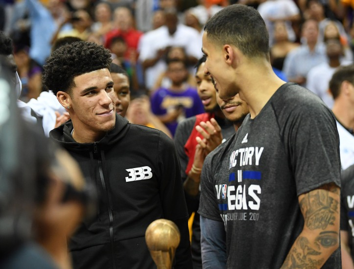 NBA: Summer League-Portland Trail Blazers at Los Angeles Lakers