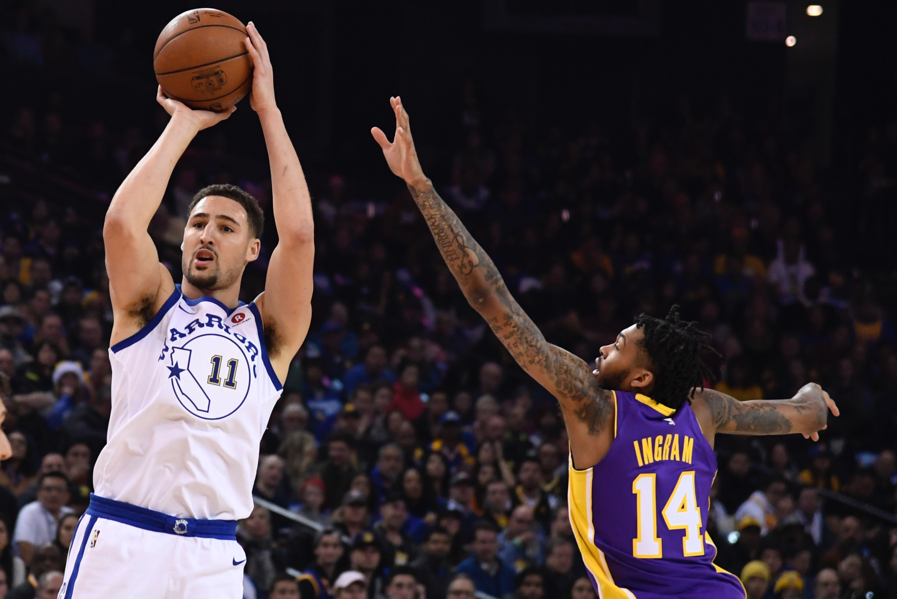 Klay Thompson Discussing Contract Extension With Warriors