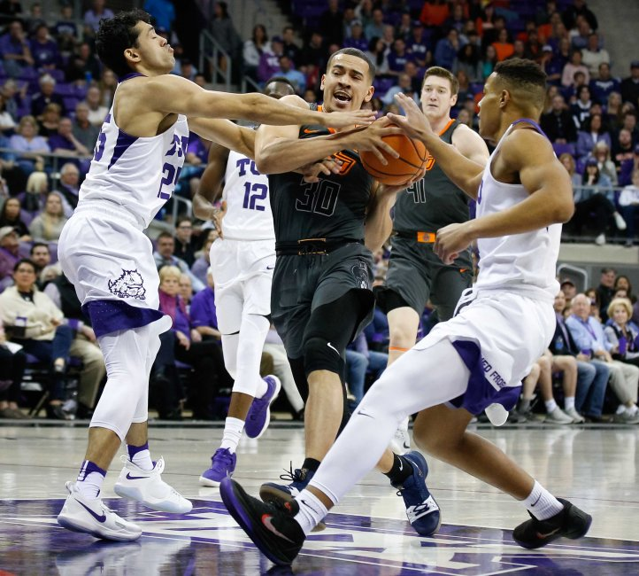 NCAA Basketball: Oklahoma State at Texas Christian