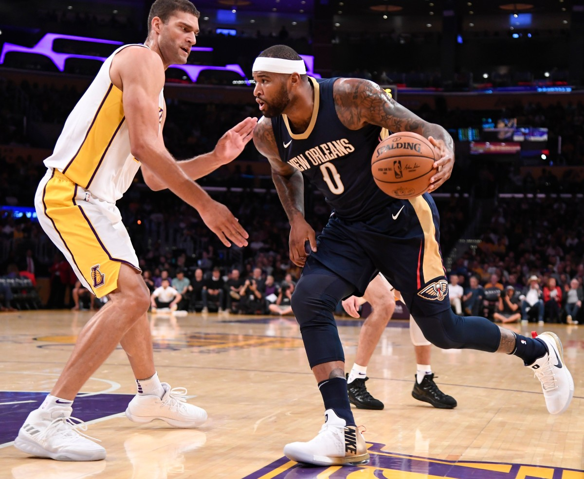 Report: Lakers passed on signing DeMarcus Cousins to one ...