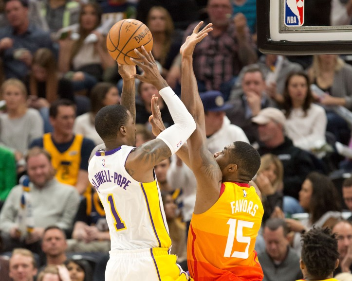 NBA: Los Angeles Lakers at Utah Jazz