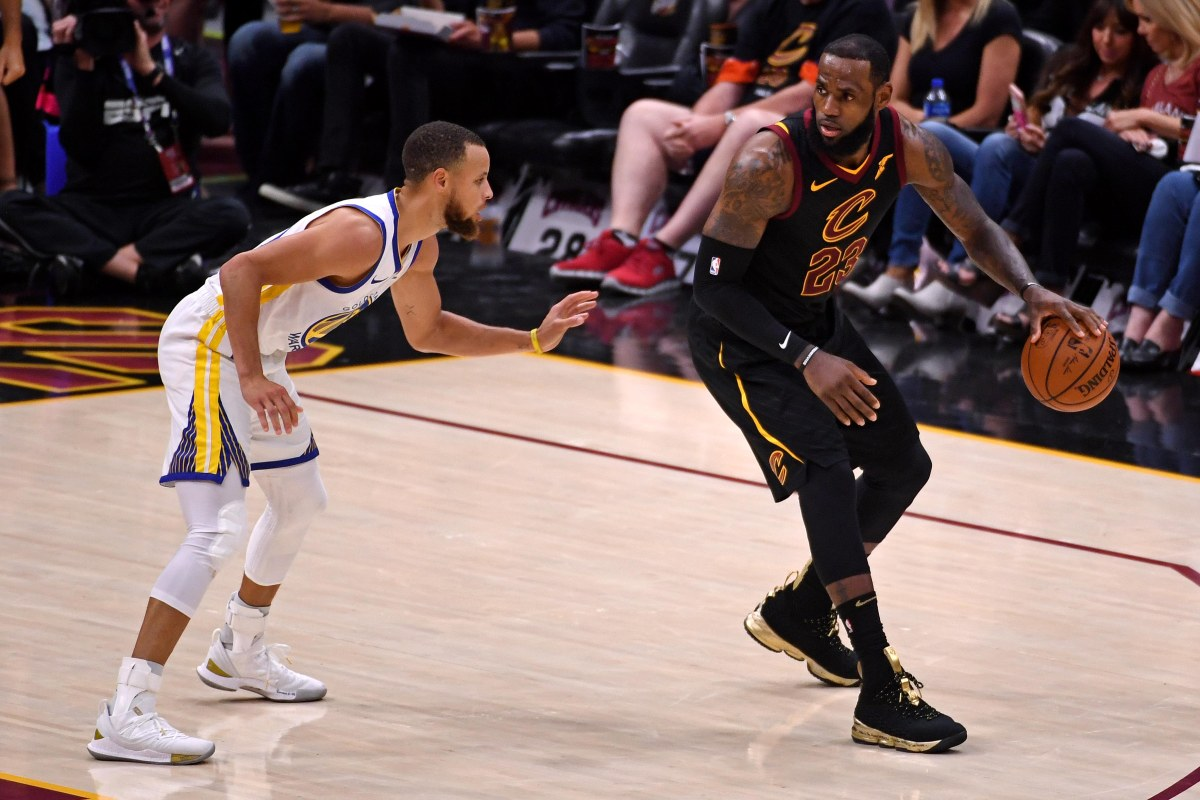 "Stephen Curry says Western Conference ""got stronger"" with LeBron James but ""you've still got to ..."