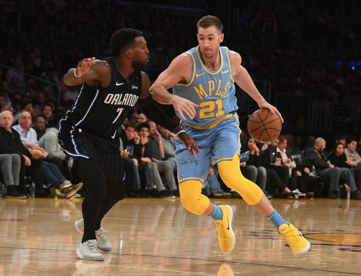 NBA: Orlando Magic at Los Angeles Lakers